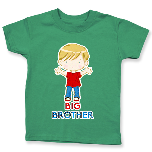 Big Brother Blonde Hair, Light Skin Green Color